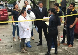 Práctica de los estudiantes de Criminología y Criminalística